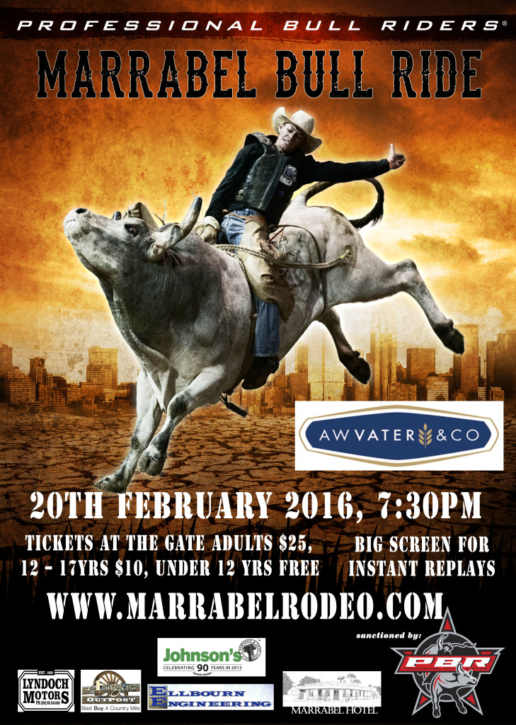 Aw Vater Amp Co Pbr Marrabel Bull Ride 2016 Southern