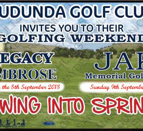 Legacy JAK Weekend 8th 9th Sept 2018 Banner